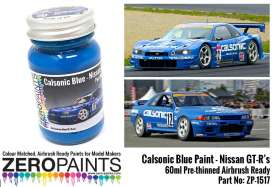 Zero Paints Paint - Calsonic Blue - Zero Paints - ZP-1517 - ZP1517 | Toms Modelautos
