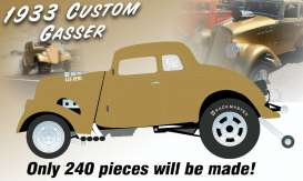 Willys  - Gasser *Dirty Thirty* 1933 gold metallic - 1:18 - Acme Diecast - 1800914 - acme1800914 | Toms Modelautos