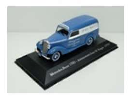Mercedes Benz  - 170D 1954 blue/white - 1:43 - Magazine Models - ARG81 - magARG81 | Tom's Modelauto's