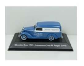 Mercedes Benz  - 170D 1954 blue/white - 1:43 - Magazine Models - SER21 - magSER21 | Toms Modelautos