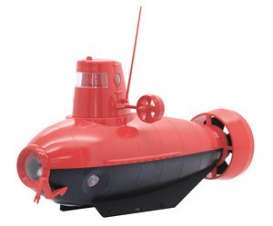 Submarine  - red/black - Fujimi - 170909 - fuji170909 | Toms Modelautos