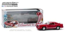 Ford  - Mustang 1976 red/white - 1:43 - GreenLight - 86337 - gl86337 | Toms Modelautos