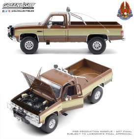 GMC  - K-2500 1982  - 1:18 - GreenLight - 13560 - gl13560 | Toms Modelautos