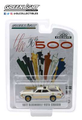Oldsmobile  - Vista Cruiser 1972 cream/yellow - 1:64 - GreenLight - 30114 - gl30114 | Toms Modelautos