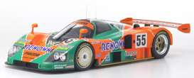 Mazda  - 787 orange/green - 1:12 - Kyosho - KSR08665A - kyoKSR8665A | Toms Modelautos