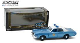 Plymouth  - Fury 1975  - 1:24 - GreenLight - 84102 - gl84102 | Tom's Modelauto's