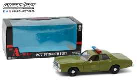 Plymouth  - Fury 1977  - 1:24 - GreenLight - 84103 - gl84103 | Tom's Modelauto's