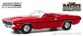 Dodge  - Challenger R/T Convertible 1970 red - 1:18 - GreenLight - 13565 - gl13565 | Toms Modelautos