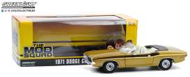 Dodge  - Challenger 1971 gold - 1:18 - GreenLight - 13566 - gl13566 | Tom's Modelauto's