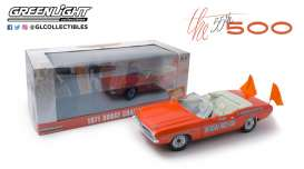 Dodge  - Challenger 1971 orange - 1:18 - GreenLight - 13569 - gl13569 | Toms Modelautos