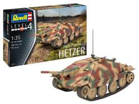 Military Vehicles  - Jagdpanzer 38  - 1:35 - Revell - Germany - 03272 - revell03272 | Toms Modelautos