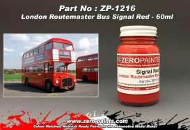 Zero Paints Paint - London Routemaster Red - Zero Paints - ZP1216 | Toms Modelautos