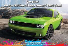 Zero Paints Paint - Pearl Green - Zero Paints - ZP1271 | Tom's Modelauto's