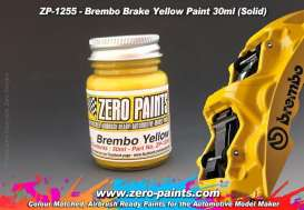 Zero Paints Paint - Brake Caliper Yellow - Zero Paints - ZP1255 | Toms Modelautos