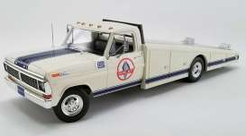 Ford  - F-350 Ramp Truck 1970 black - 1:18 - Acme Diecast - 1801404 - acme1801404 | Toms Modelautos