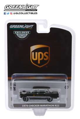 Checker  - 1975 brown - 1:64 - GreenLight - 30128 - gl30128 | Toms Modelautos