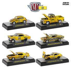 Assortment/ Mix  - gold/black - 1:64 - M2 Machines - 32500-S81 - M2-32500S81 | Toms Modelautos
