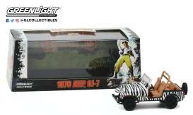 Jeep Mustang - CJ-7 1976 white/black - 1:43 - GreenLight - 86574 - gl86574 | Toms Modelautos