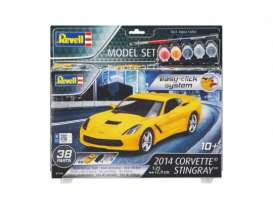 Corvette  - 1:25 - Revell - Germany - 67449 - revell67449 | Tom's Modelauto's