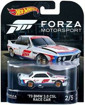 BMW  - 3.0 CSL Race Car 1973 white/blue/red - 1:64 - Hotwheels - DWJ95 - hwmvDWJ95 | Toms Modelautos