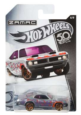 Dodge  - Demon 1968 silver-chrome - 1:64 - Hotwheels - FRN29 - hwmvFRN29 | Toms Modelautos