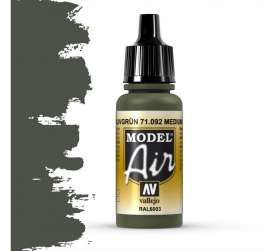 Paint Accessoires - air medium green - Vallejo - val71092 - val71092 | Toms Modelautos