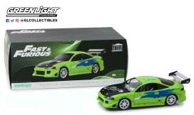 Mitsubishi  - Eclipse F&F 1995 green - 1:18 - GreenLight - 19039 - gl19039 | Tom's Modelauto's