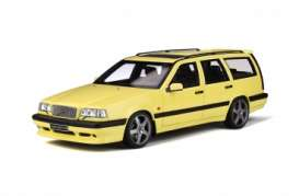 Volvo  - 850 T5-R 1995 cream yellow - 1:18 - OttOmobile Miniatures - ot310 - otto310 | Toms Modelautos