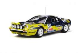 Ferrari  - 308 GTB 1981 yellow/black - 1:18 - OttOmobile Miniatures - 567 - otto567 | Tom's Modelauto's