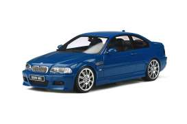 BMW  - E46 M3 2000 blue - 1:18 - OttOmobile Miniatures - ot880 - otto880 | Toms Modelautos