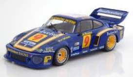 Porsche  - 1979 blue/yellow - 1:18 - Norev - 187434 - nor187434 | Tom's Modelauto's