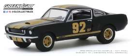Shelby  - Mustang 1966 black/gold - 1:64 - GreenLight - 30123 - gl30123 | Toms Modelautos