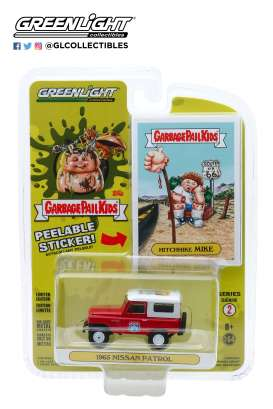 Nissan  - Patrol 1965 red - 1:64 - GreenLight - 54030C - gl54030C | Toms Modelautos