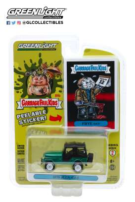 Jeep  - CJ-5 1970 green - 1:64 - GreenLight - 54030D - gl54030D | Toms Modelautos