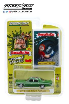 Dodge  - Royal 1977 green - 1:64 - GreenLight - 54030E - gl54030E | Toms Modelautos