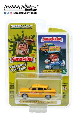 Checker  - Marathon 1970 yellow - 1:64 - GreenLight - 54030F - gl54030F | Tom's Modelauto's