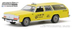 Ford  - LTD Crown Victoria yellow - 1:64 - GreenLight - 30122 - gl30122 | Tom's Modelauto's