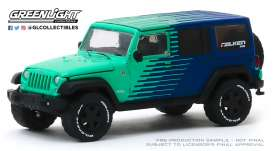 Jeep  - Wrangler  - 1:64 - GreenLight - 30124 - gl30124 | Toms Modelautos