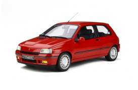 Renault  - Clio red - 1:12 - OttOmobile Miniatures - G045 - ottoG045 | Tom's Modelauto's