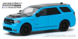 Dodge  - Durango 2018 blue - 1:64 - GreenLight - 30130 - gl30130 | Toms Modelautos