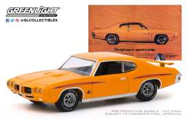 Pontiac  - GTO Judge 1970  - 1:64 - GreenLight - 30138 - gl30138 | Toms Modelautos