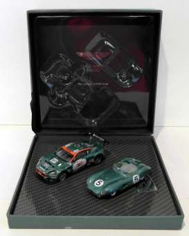 Aston Martin  - DBR1 & DBR9 british racing green - 1:43 - IXO Models - A01MC4 - ixoA01MC4 | Tom's Modelauto's