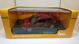 Mitsubishi  - Lancer Evo X red - 1:43 - IXO Models - KB1044 - ixKB1044 | Tom's Modelauto's