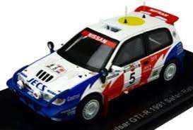 Nissan  - Pulsar GTi-R #5 1991 red/white/blue - 1:43 - Norev - PM0081 - norPM0081 | Toms Modelautos
