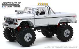 Ford  - F-250 Monster Truck 1979 white - 1:18 - GreenLight - 13556 - gl13556 | Toms Modelautos