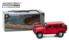 Jeep  - 2017 red - 1:43 - GreenLight - 86177 - gl86177 | Tom's Modelauto's
