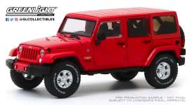 Jeep  - 2017 red - 1:43 - GreenLight - 86177 - gl86177 | Toms Modelautos