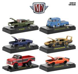 Assortment/ Mix  - various - 1:64 - M2 Machines - 32500-56 - M2-32500-56 | Tom's Modelauto's