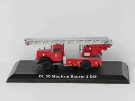 Magirus Deutz  - DL30  Saurer 2 DM red - 1:72 - Magazine Models - DL30 - magfireDL30 | Toms Modelautos