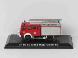 Iveco  - red - 1:72 - Magazine Models - LF16 - magfireLF16 | Toms Modelautos